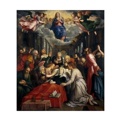 La Muerte de la Virgen y la Asunción, Before 1550