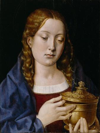 Catherine of Aragon as the Magdalene (Oil on Oak Panel)
