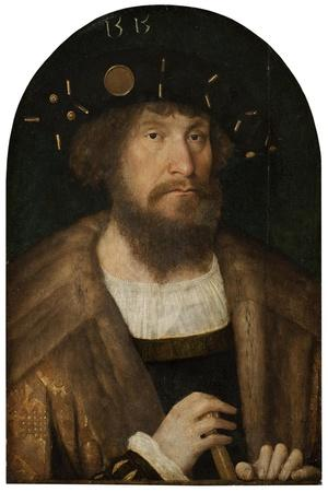 Portrait of the Danish King Christian II, 1514/15