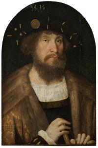 Portrait of the Danish King Christian II, 1514/15 by Michiel Sittow