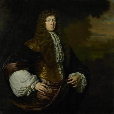 Portrait of Hendrick Bicker, Burgomaster of Amsterdam