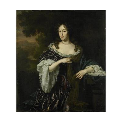 Portrait of Maria Schaep, Wife of Hendrick Bicker