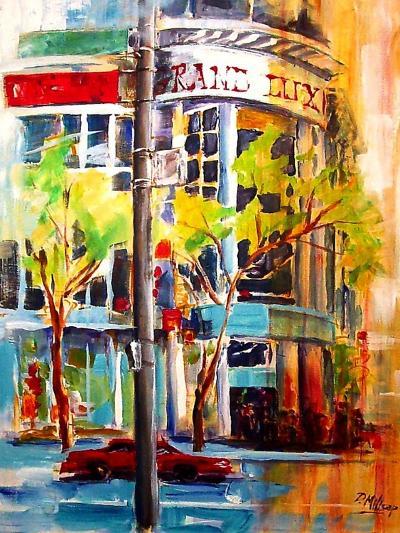 Michigan Avenue - Chicago-Diane Millsap-Art Print