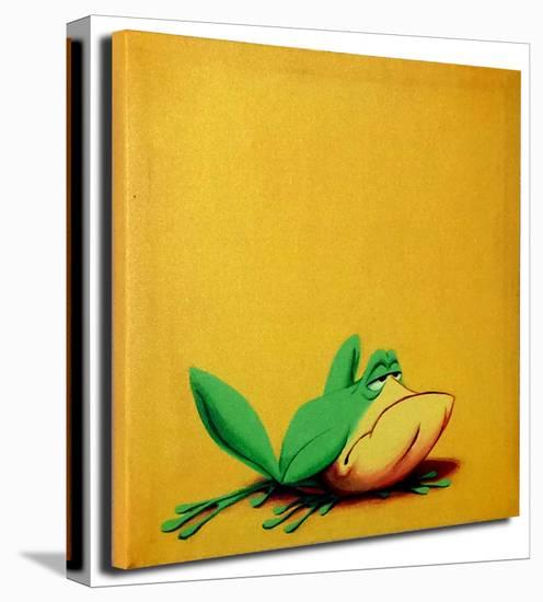 Michigan J. Frog--Gallery Wrapped Canvas