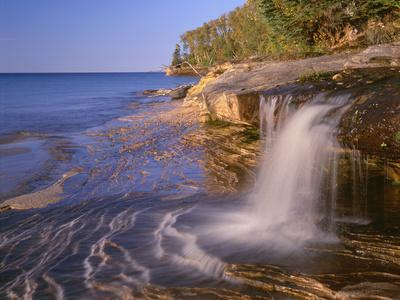 Michigan, Pictured Rocks National Lakeshore-John Barger-Photographic Print