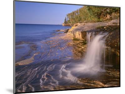 Michigan, Pictured Rocks National Lakeshore-John Barger-Mounted Photographic Print