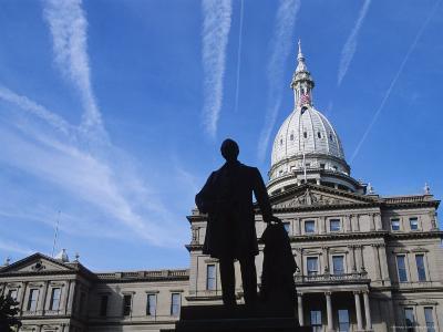Michigan State Capitol, Lansing, Michigan, USA-Michael Snell-Photographic Print