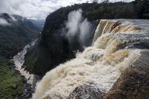 View from the Kaieteur Falls Rim into the Potaro River Gorge, Guyana, South America by Mick Baines & Maren Reichelt