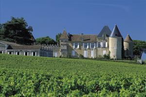 Chateau D'Yquem, Sauternes, France by Mick Rock