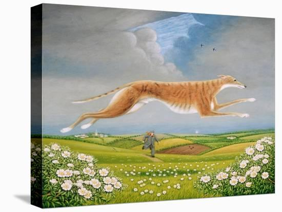 Mick the Miller, 1992-Frances Broomfield-Stretched Canvas Print