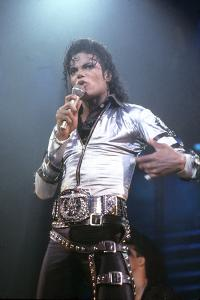 Mickael Jackson on Stage in Los Angeles in 1993
