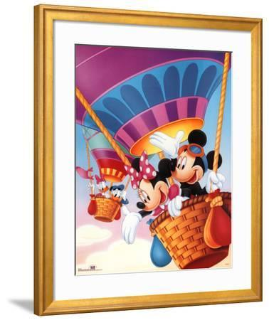 Mickey Mouse and Friends Hot Air Balloons