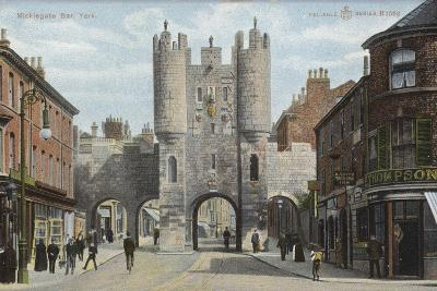 Micklegate Bar, York--Photographic Print