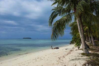 Micro Beach on Garapan, Saipan, Northern Marianas, Central Pacific, Pacific-Michael Runkel-Photographic Print
