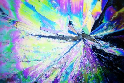 Micro Crystals-3quarks-Photographic Print