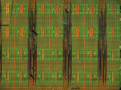 Microchip, Light Micrograph-Robert Markus-Photographic Print
