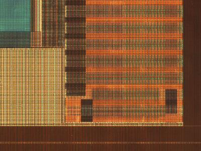 Micrograph of a Computer Microprocessor, LM X70-Robert Markus-Photographic Print