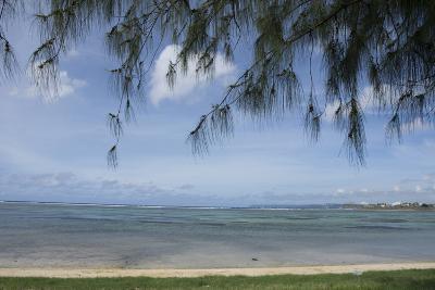 Micronesia, Mariana Islands, Guam, Hagatna. Philippine Sea and Beach-Cindy Miller Hopkins-Photographic Print