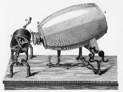 Mid-19th Century Phonautograph, C.1906--Giclee Print
