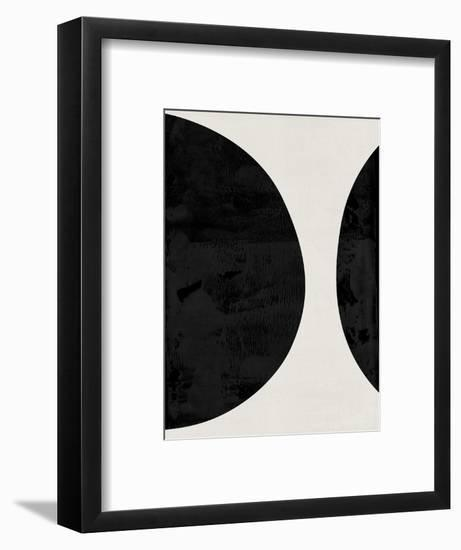 Mid Century Abstract Shapes IV-Eline Isaksen-Framed Art Print