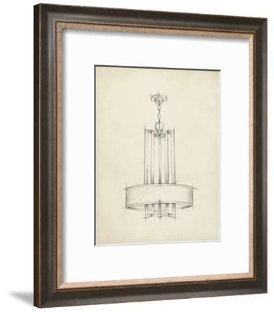 Mid Century Chandelier I-Ethan Harper-Framed Art Print