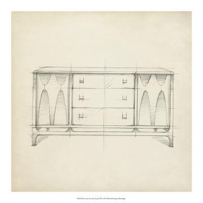 Mid Century Furniture Design VIII-Ethan Harper-Giclee Print