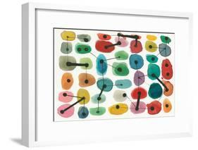 Mid Century II-Cheryl Warrick-Framed Art Print
