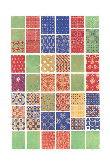 Mid Evil Graphic-Style Pattern--Art Print