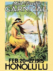 Mid Pacific Carnival, Honolulu, Hawaii, 1915