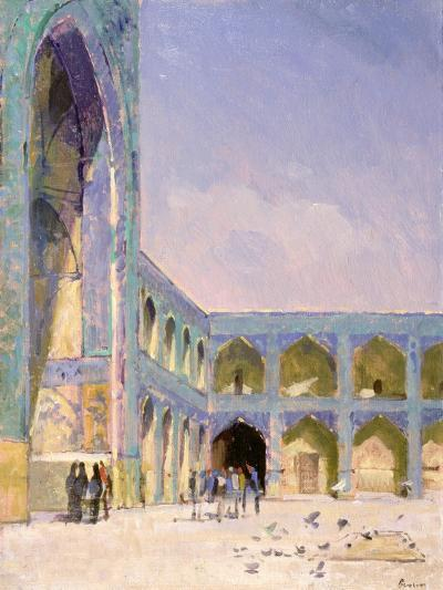 Midday, Friday Mosque, Isfahan-Bob Brown-Giclee Print