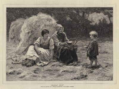 Midday Rest-Frederick Morgan-Giclee Print