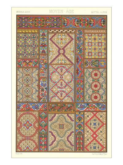 Middle Ages Decorative Arts--Art Print