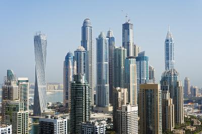 Middle East, United Arab Emirates, Dubai, Dubai Marina Buildings-Christian Kober-Photographic Print
