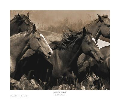 Middle of the Pack-Robert Dawson-Art Print