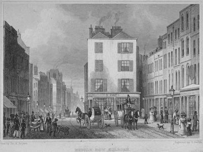 Middle Row, Holborn, London, 1829-Thomas Barber-Giclee Print