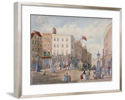 Middle Row, Holborn, London, 1867-EH Dixon-Framed Giclee Print