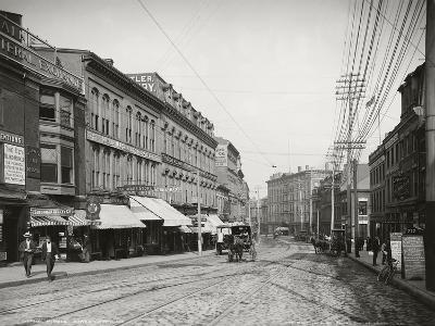 Middle Street in Portland, 1904, Maine, United States of America 20th Century--Giclee Print