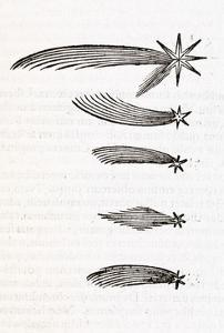 Comet Observations, 16th Century by Middle Temple Library