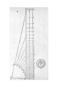 Measuring Device, 16th Century Artwork by Middle Temple Library