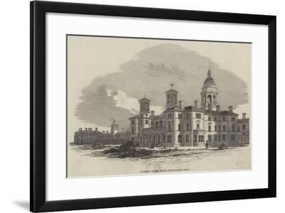 Middlesex Pauper Lunatic Asylum, Colney Hatch--Framed Giclee Print