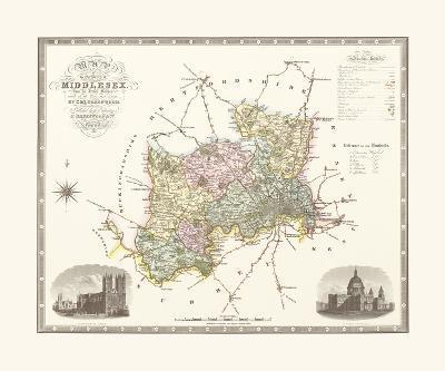Middlesex-C & J Greenwood-Premium Giclee Print