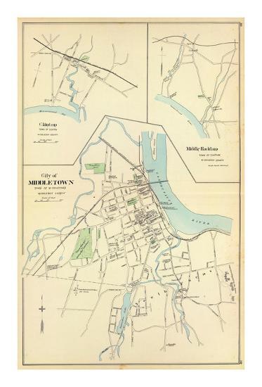 Middletown, Connecticut, c.1893--Art Print