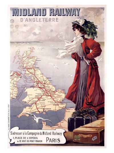 Midland Railway-Henri Gray-Giclee Print