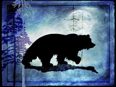Midnight Bear-LightBoxJournal-Giclee Print