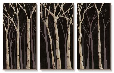 Midnight Birches-Jade Reynolds-Canvas Art Set