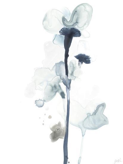 Midnight Blossoms I--Premium Giclee Print