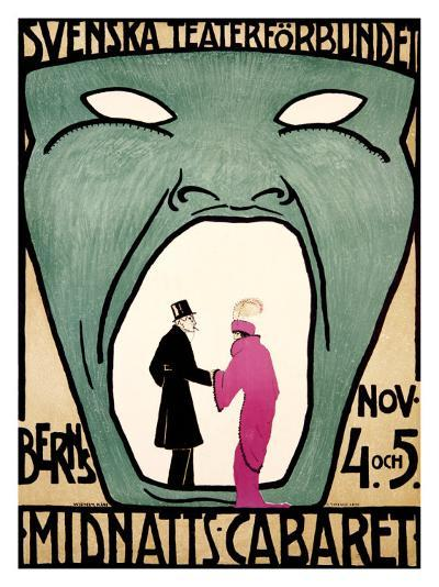 Midnight Cabaret, Berns--Giclee Print