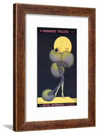 Midnight Follies at Hotel Metropole--Framed Art Print