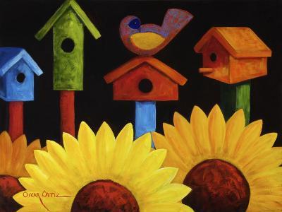 Midnight Garden-Oscar Ortiz-Giclee Print