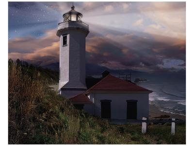 Midnight Hope I-Steve Hunziker-Art Print